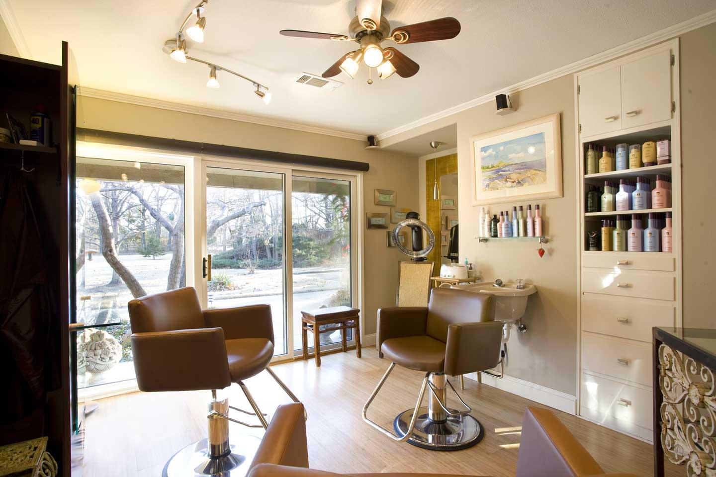 Wilborn Hair Salon from the chair